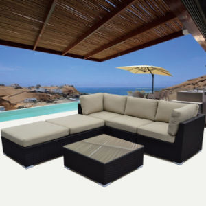 All Weather PE Resin Wicker Design Sofa Set with Coffee Table pictures & photos