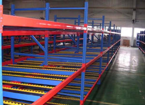 Warehouse Industrial Storage Flow Through Rack Steel Shelves/Racking pictures & photos