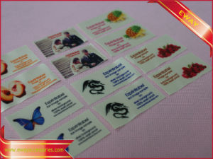 Full Printed Garment Label Satin Printed Label From Factory pictures & photos