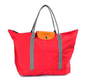 OEM New Foldable Nylon Fabric Tote Bag pictures & photos