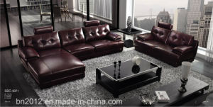 Living Room Genuine Leather Sofa (SBO-3971) pictures & photos