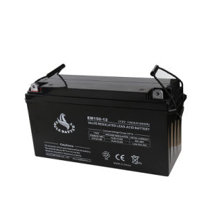12V 150ah AGM Lead Acid Mf VRLA Rechargeable UPS Battery pictures & photos