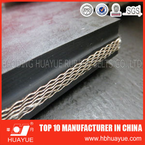 China Top 10 Manufacture Industrial Black Rubber Conveyor Belt pictures & photos