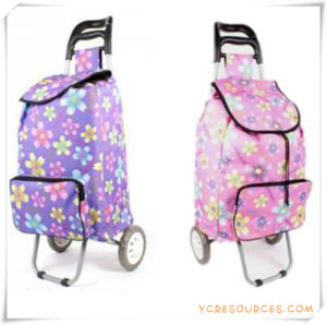 Two Wheels Shopping Trolley Bag for Promotional Gifts (HA82005) pictures & photos