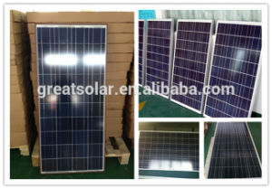 Cheap Price Per Watt! ! Poly Solar Panel 130W with TUV, CE pictures & photos