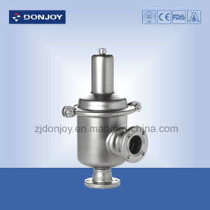 Sanitary Mini Type Flanged Pneumatic Pressure Reducing Valve pictures & photos