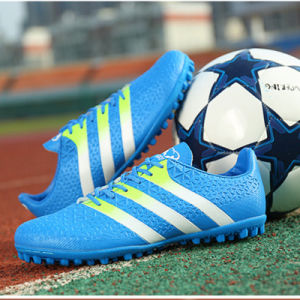 Professional Athletic Football Boots Sports Soccer Shoes for Men (AK668-2H) pictures & photos