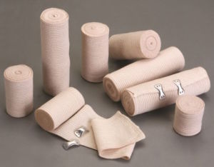 Surgical Sterile Skin Color High Elastic Bandage /Flexible Bandage pictures & photos