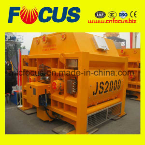 Twin-Shaft Js2000 Concrete Mixture Machine on Hignest Quality pictures & photos