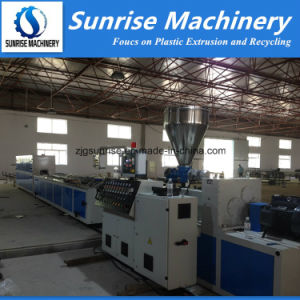 Plastic Profile Production Line / Extrusion Line for PVC PE PP Profiles pictures & photos