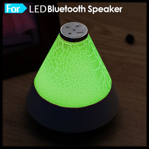 Colorful Mini LED Light Bluetooth Speaker