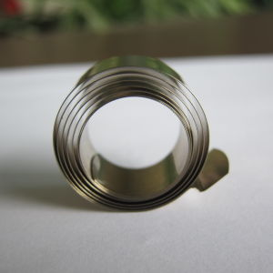Spiral Power Spring Variable Force for Display Shelf Pusher pictures & photos