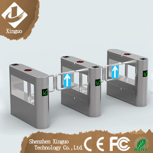 Access Intelligent Swing Turnstile Gate/RFID Secured Security Swing Barrier Gate pictures & photos
