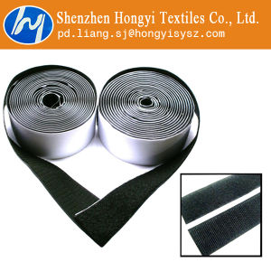 Strong Sticky Fastener Self Adhesive Hook & Loop Black pictures & photos