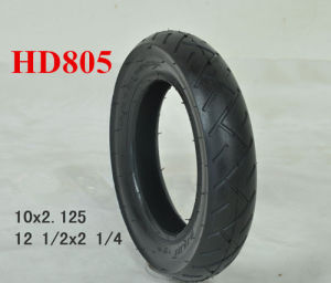 2015 European New Standards Stroller/Pram/Buggy Tyre/Tire and Tube 12 1/2X 2 1/4 pictures & photos