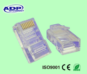 Cat5e CAT6 Cat7 RJ45 Connector for LAN Cable pictures & photos