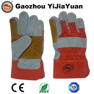 Anti Cutting Heat Insulationn Leather Working Gloves pictures & photos