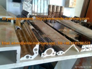 PVC Marble Profile Production Line Marble pictures & photos