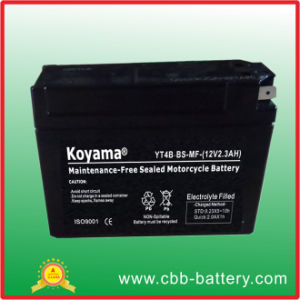 High Starting Performance SMF Motorcycle Battery Yt4b-BS (12V2.3Ah) pictures & photos