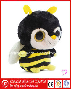 Cute Soft Stuffed Bee Toy for Promotional Gift