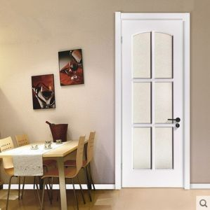 Chinese Style PVC Door in Popular Shape pictures & photos
