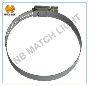 American Type Stainless Steel Worm Drive Hose Clamp pictures & photos