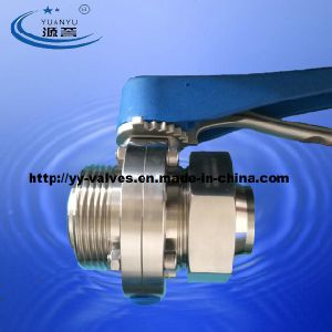 Sanitary Butterfly Valve (full forged) pictures & photos
