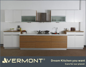 China cheap and beautiful model melamine kitchen cabinets for Kitchen cabinets vermont