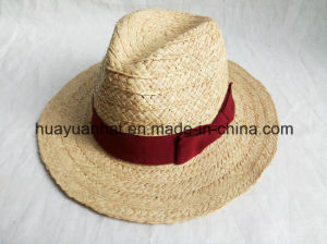 100% Raffia Straw with Bowknot Safari Hats