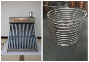 Stainless Steel Coil Heating Solar Water Heater pictures & photos
