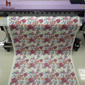 80GSM Sublimation Heat Transfer Paper Roll Size for Heat Transfer/Textile Printing pictures & photos