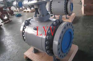 3 Way Soft Sealing Trunion Ball Valve