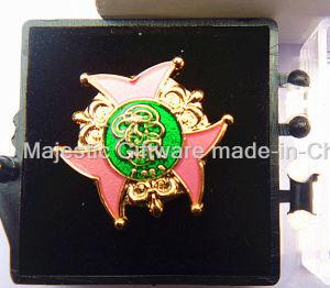 3D Transparent Enamel Badge pictures & photos