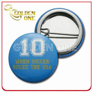 Personalized Design Screen Printed Sport Metal Pin Badge pictures & photos
