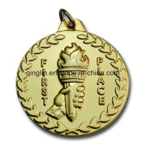 Custom Olive Branches Zinc Alloy Metal Medals (QL-JP-0011) pictures & photos