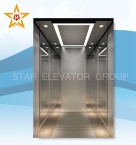 High Speed Lift for High-Rises (Mirror hairline stainless)