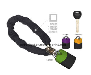 Professional Bicycle Chain Lock for Mountain Bike (HLK-037) pictures & photos
