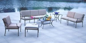 5-Years of Warranty Sofa Group Patio Cast Aluminum Furniture pictures & photos