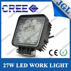 Jgl 4X4 Vehicle Square 27W LED Work Light pictures & photos