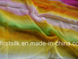 Silk Chiffon Fabric Digital Printing pictures & photos