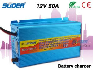 Suoer Smart Charger 50A 12V Car Battery Charger (MA-1250E) pictures & photos