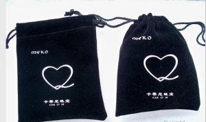 Custom Printed Luxury Velvet Bags pictures & photos