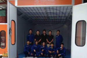 Car Auto Painting and Baking Booth Wld8200 CE pictures & photos