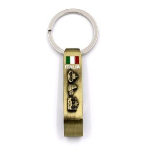 Fashion Customized Fabric Keychain Gift Volleyball Metal Fashion Enamel Embroidered pictures & photos