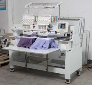 Used 2 Heads Tajima Embroidery Machine Factory Price for T-Shirt pictures & photos