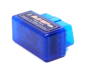 Elm 327 Bluetooth OBD 2 Auto Diagnostic-Tool of Blue V1.5