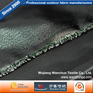Green Black Memory Lurex Fabric for Garment pictures & photos