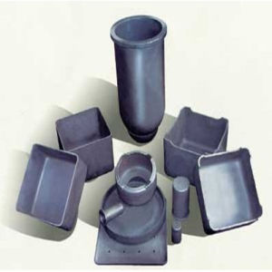 Withstand 1650 Degree High Purity Silicon Carbide Crucible for Sintering pictures & photos