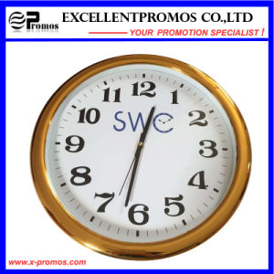 High Quality Custom Logo Printing Round Plastic Wall Clock (Item23) pictures & photos