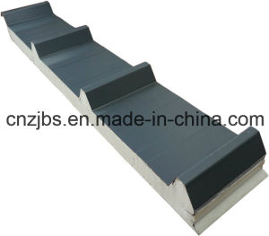 Modular House Used Heat Insulated PU Roof Sandwich Panel pictures & photos
